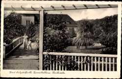 Postcard Bad Salzdetfurth in Niedersachsen, Kurmittelhaus, Parkseite