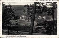 Postcard Bad Salzdetfurth in Niedersachsen, Am Tannenberg