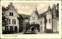 Postcard Herzogenrath in Nordrhein Westfalen, Blick in den Burghof