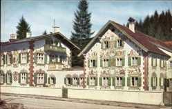 Postcard Oberammergau in Oberbayern, Hänsel und Gretel Haus