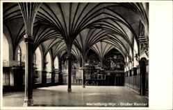 Postcard Malbork Marienburg Westpreußen, Partie aus dem großen Remter