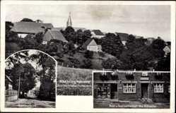 Postcard Kneblinghausen Rüthen im Kreis Soest, Gasthaus Wwe. Schaefer, Dorfstraße