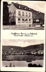 Postcard Fachbach Rheinland Pfalz, Gasthaus und Pension zum Rebstock, H. Stils