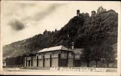 Foto Ak Oberwesel im Rhein Hunsrück Kreis, ORV Bootshaus Weihe 9. Mai 1929