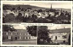 Postcard Waldbröl im Oberbergischen Kreis, Totalansicht, Gasthof Wilh. Wirges
