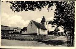Postcard Hildfeld Winterberg im Hochsauerlandkreis, Neue Marienkirche, Rückansicht