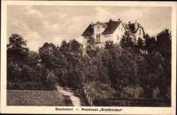 Postcard Bendestorf in Niedersachsen, Pensionat Waldfrieden, A Müller
