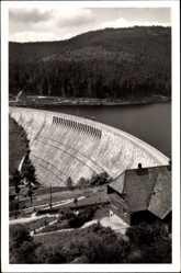 Postcard Schwarzenbach Talsperre bei Forbach im nördlichen Hochschwarzwald