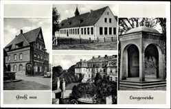 Postcard Langeneicke Geseke im Kreis Soest Nordrhein Westfalen, Gasthaus zum Krug