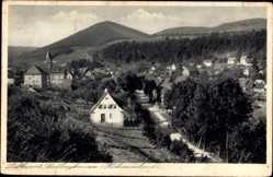 Postcard Siedlinghausen Winterberg Hochsauerland, Ortschaft, Gebirge