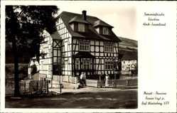 Postcard Züschen Winterberg im Hochsauerlandkreis, Pension von Franz Vogt Jr