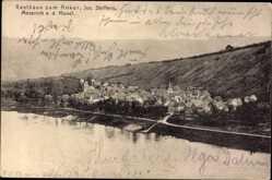 Postcard Mesenich an der Mosel, Gasthaus zum Anker, Steffens, Gesamtansicht
