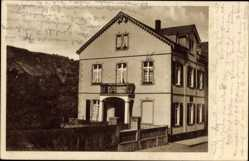 Postcard Boppard im Rhein Hunsrück Kreis, Pension zur Traube, Bestizer Nass