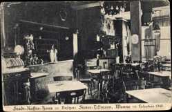 Postcard Wanne Herne im Ruhrgebiet Nordrhein Westfalen, Stadt Kaffee Haus Tillmann