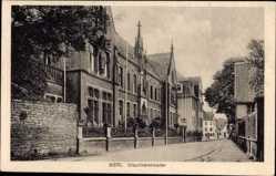 Postcard Werl im Kreis Soest Nordrhein Westfalen, Blick auf das Ursulinenkloster