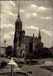 Postcard Rheydt Mönchengladbach im Ruhrgebiet, Blick auf die Hauptkirche
