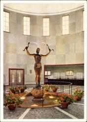 Postcard Bad Tölz im Isartal Oberbayern,Trinkhalle der Kurverwaltung der Jodquellen AG
