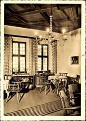Postcard Heilsbronn im Kreis Ansbach Mittelfranken, Neue Abtei, Kapitelsaal
