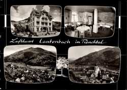 Postcard Lautenbach im Renchtal, Hotel Sternen, L. Kimmig, Innenansicht