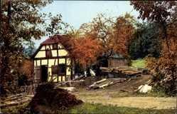 Ak Nenke und Ostermaier Serie 132 Nr. 2565, Sägemühle im Walde, Rottenbach