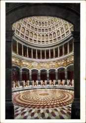 Postcard Kelheim an der Donau Niederbayern, Inneres der Befreiungshalle, Mosaike