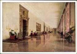 Postcard Berlin Mitte, Neue Reichskanzlei, Albert Speer, Marmorgalerie