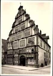 Postcard Lemgo in Nordrhein Westfalen, Das Hexenbürgermeisterhaus von 1571