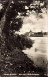 Postcard Kostrzyn nad Odrą Cüstrin Ostbrandenburg, Blick auf Schlosskaserne