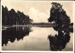 Ak Mazury Masuren Ostpreußen, Landschaft, Wasserreflektionen