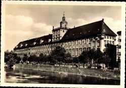 Ak Wrocław Breslau Schlesien, Ansicht der Universität, Uniwersytet