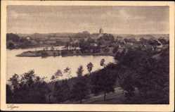 Ak Łagów Powiat Świebodziński Lagow Neumark Ostbrandenburg, Totalansicht, Ort