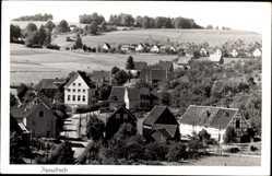 Postcard Hesselbach Gummersbach im Oberbergischen Kreis, Blick auf den Ort