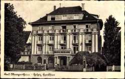 Postcard Bad Mergentheim in Tauberfranken, Vorderansicht Hospiz Excelsior