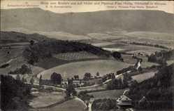 Postcard Eschwege im Werra Meißner Kreis, Blick vom Bilstein auf Hotel Frau Holle