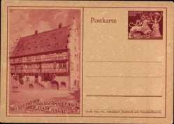 Ganzsachen Ak Hanau, Das deutsche Goldschmiedehaus der Stadt
