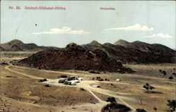 Postcard Namibia Deutsch Südwest Afrika, Stolzenfels, Berge, Wüstenlandschaft
