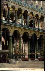 Postcard Konstantinopel Istanbul Türkei, Interieur St. Sophie, Hagia Sophia