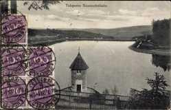 Postcard Neunzehnhain Pockau Lengefeld im Erzgebirge Sachsen, Talsperre, Stausee
