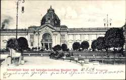 Postcard Düsseldorf am Rhein, Internat. Kunst und Gartenbau Ausstellung 1904