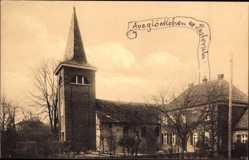 Postcard Rickelrath Wegberg Nordrhein Westfalen, Blick auf eine Kirche