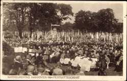 Ak Hannover in Niedersachsen, Katholikentag 1924, Festgottesdienst