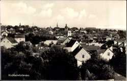 Postcard Kirchheimbolanden im Donnersbergkreis, Totalansicht der Ortschaft