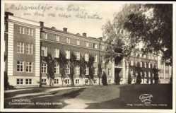 Postcard Linköping Schweden, Centrallasarettet, Kirurgiska avdeln, Krankenhaus