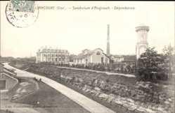 Postcard Liancourt Oise, Sanatorium d'Angicourt, Dépendances, Wasserturm