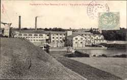 Ak La Haye Descartes Indre et Loire, Papeterie, Papierfabrik