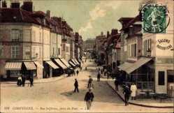 Ak Compiègne Oise, Rue Solferino, prise du Pont, Straßenpartie