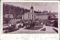 Postcard Gutenstein Niederösterreich, Wallfahrtskirche am Mariahilfberg