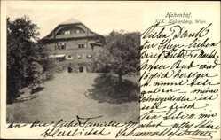 Postcard Wien 19. Döbling Kahlenberg Österreich, Blick auf den Hohenhof, Park
