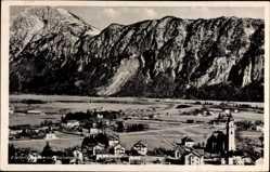 Postcard Kiefersfelden im Kreis Rosenheim Oberbayern, Ortschaft mit Kaisergebirge