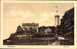 Postcard Heilbronn in Baden Württemberg, Wartberg, Turm, Haus